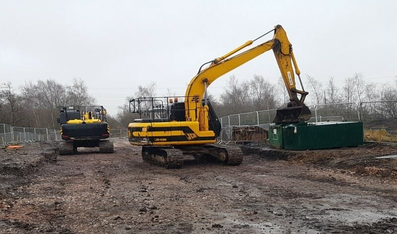 Construction Begins at Cannock